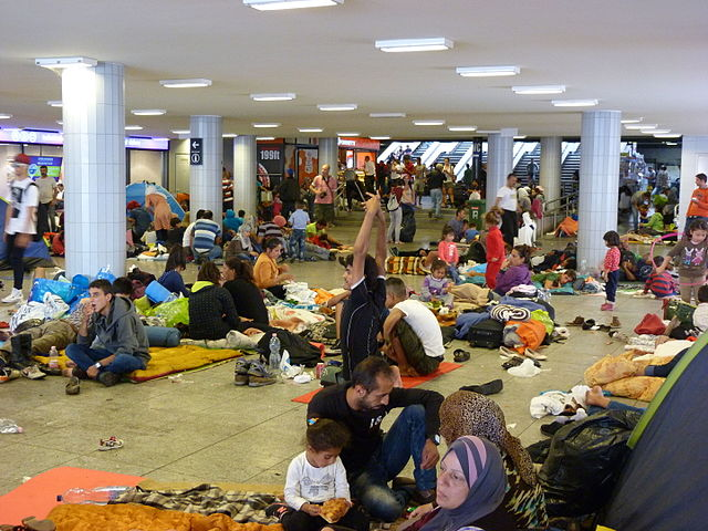 Migrants at Eastern Railway Station Keleti2c 2015.09.04 1